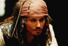 Johnny Depp Autograph Signed Photo - Pirates of the Caribbean